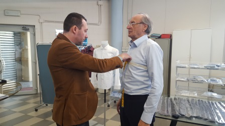 negozio online a92b4 e95cd Crespi Borghi - camicie su misura